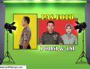 Pas Foto Polisi dan TNI Jember