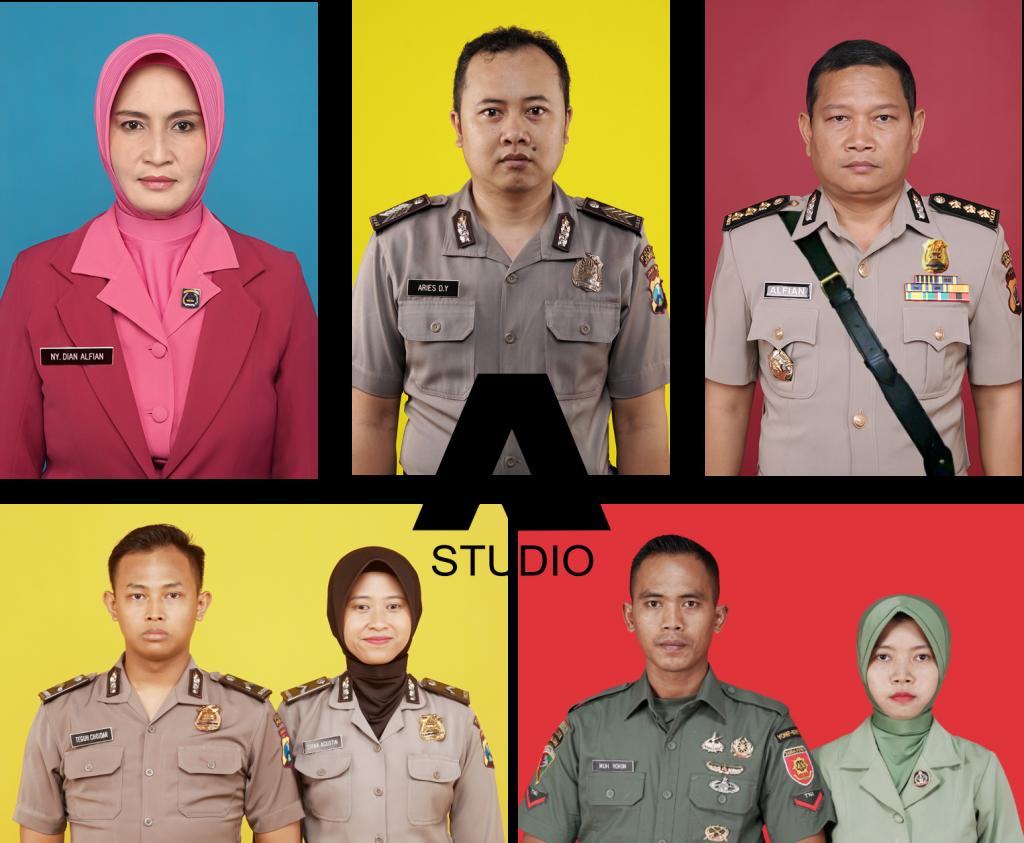 Pas Foto Polisi Dan TNI Jember | Termurah Berkualitas | Andhika Raya
