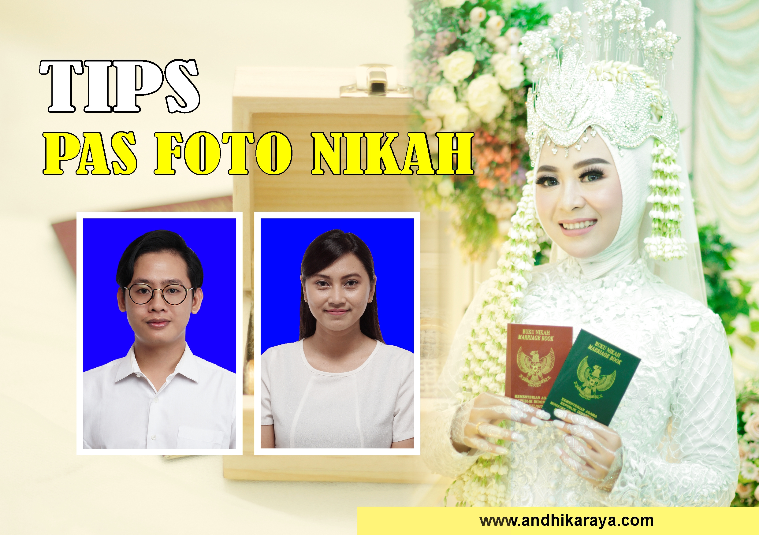 Tips pas foto nikah