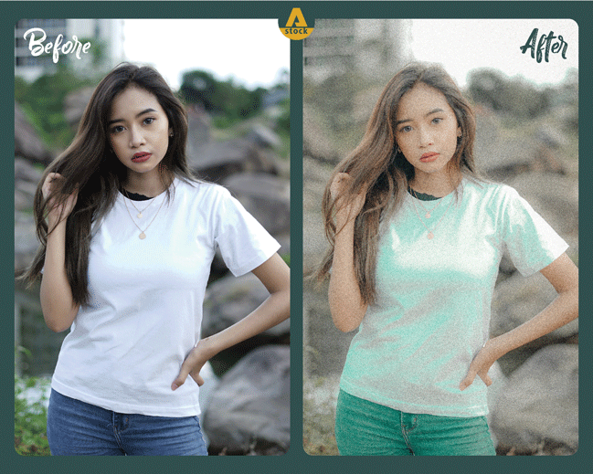 Presets for Photoshop and Lightroom by Andhika Raya Stock
