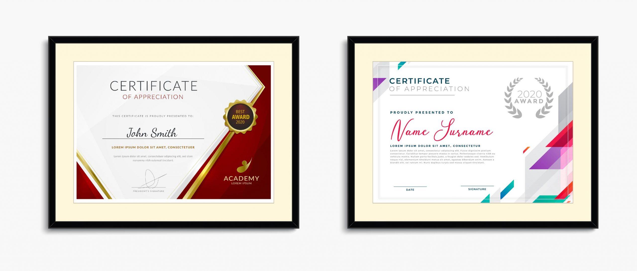 jasa desain sertifikat terdekat dan berkualitas